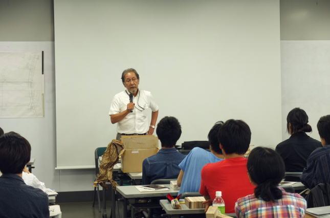 弊社常務取締役・石黒久雄の講義